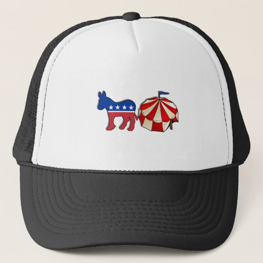 Democrat Circus Donkey Trucker Hat