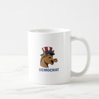 DEMOCRAT CLASSIC WHITE COFFEE MUG