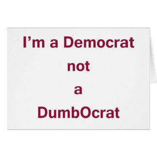 Democrat DADA Card