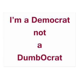 Democrat DADA Postcard