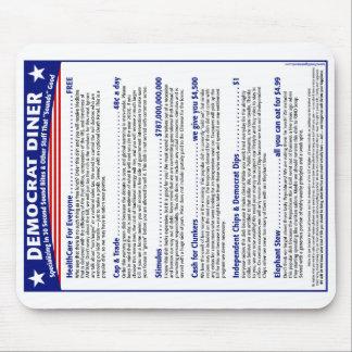Democrat Diner Mouse Pad