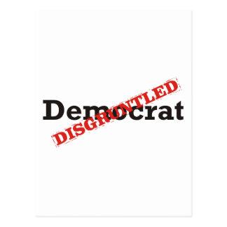 Democrat / Disgruntled Postcard