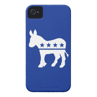 Democrat Donkey Barely There™ iPhone 4 Cas iPhone 4 Case-Mate Case