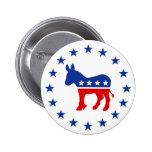 Democrat Donkey Button