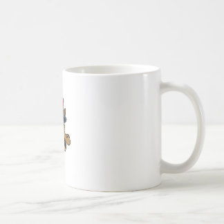DEMOCRAT DONKEY CLASSIC WHITE COFFEE MUG