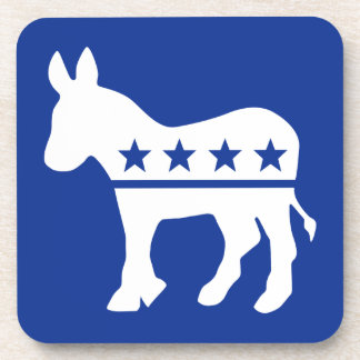 Democrat Donkey Cork Coaster