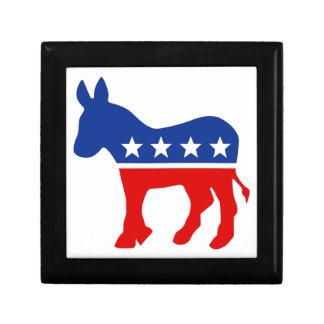 Democrat Donkey Giftbox Jewelry Box