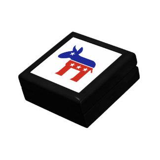Democrat Donkey Gifts Jewelry Box