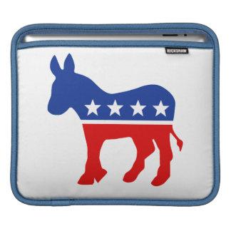 Democrat Donkey iPad Rickshaw Sleeve MacBook Air Sleeves