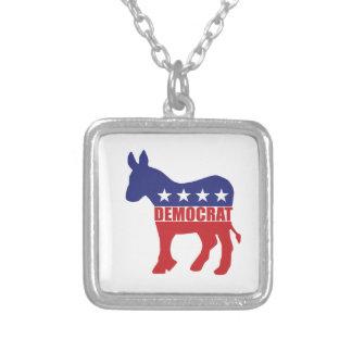 Democrat Donkey Logo Jewelry