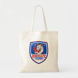 Democrat Donkey Mascot Boxer Shield Bag