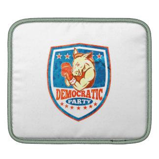 Democrat Donkey Mascot Boxer Shield Sleeve For iPads