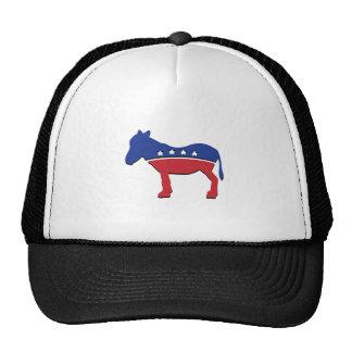 DEMOCRAT DONKEY MESH HAT