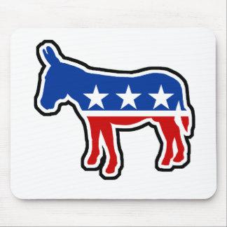 Democrat Donkey Mouse Pad