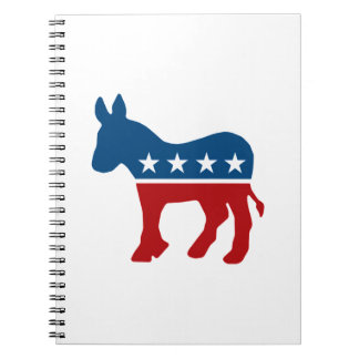 Democrat Donkey Note Books