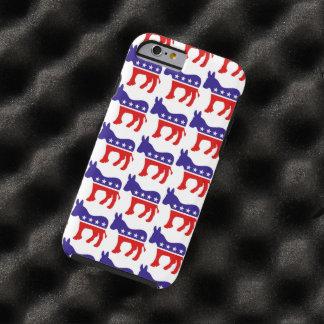 Democrat Donkey Pattern Tough iPhone 6 Case