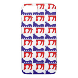 Democrat Donkey Pattern iPhone 8/7 Case