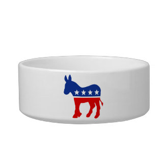 Democrat Donkey Pet Bowl