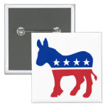 Democrat Donkey Pins