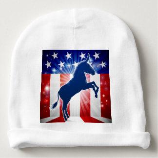 Democrat Donkey Political Mascot Baby Beanie
