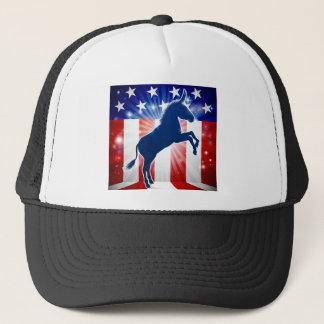 Democrat Donkey Political Mascot Trucker Hat