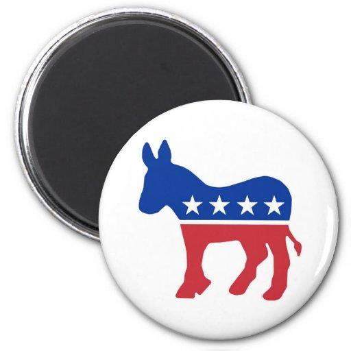 Democrat Donkey Refrigerator Magnets