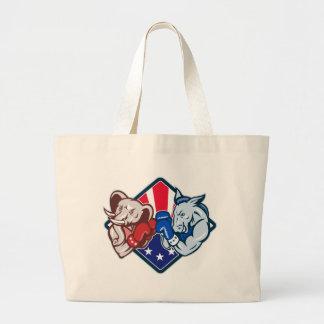 Democrat Donkey Republican Elephant Mascot Boxing Bags