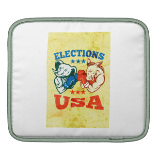 Democrat Donkey Republican Elephant Mascot USA Sleeve For iPads