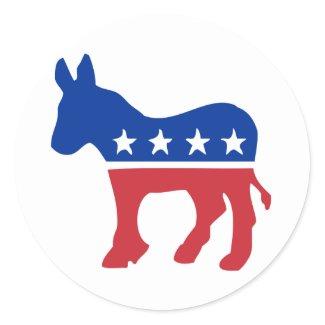 Democrat Donkey Stickers