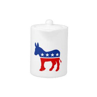Democrat Donkey Teapot