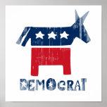 Democrat Faded.png Print