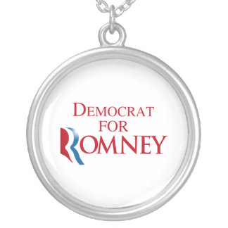 DEMOCRAT FOR ROMNEY png Custom Jewelry
