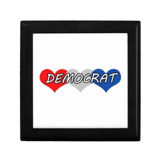 Democrat Keepsake Boxes