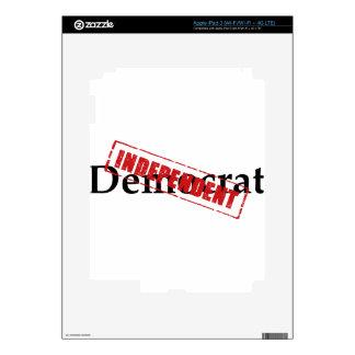 Democrat: INDEPENDENT iPad 3 Decal
