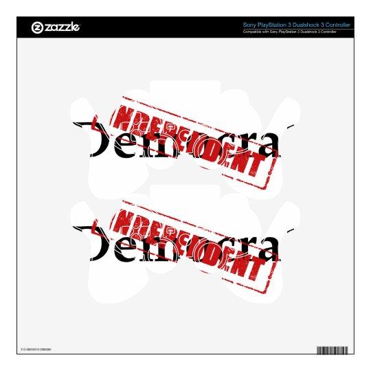 Democrat: INDEPENDENT PS3 Controller Decals