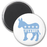 democrat it's a boy magnets