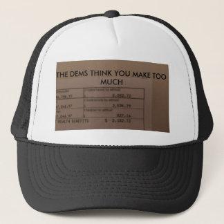 democrat joke trucker hat