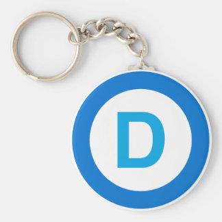 Democrat Keychain