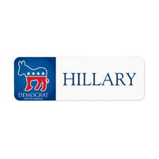 Democrat Label