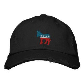 Democrat Logo Embroidered Baseball Hat