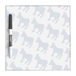 DEMOCRAT LOGO PATTERN DIAGONAL.png Dry Erase Board