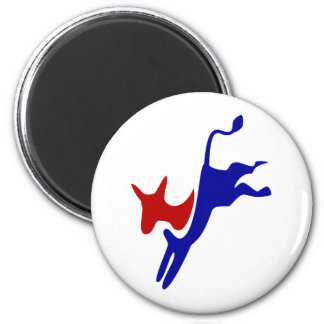 DEMOCRAT MAGNENT!! Pass it along..buy now!! bulk! 2 Inch Round Magnet