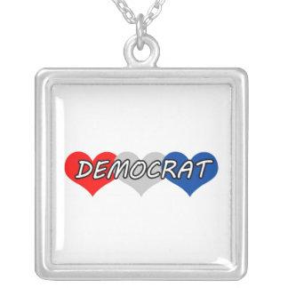 Democrat Necklace