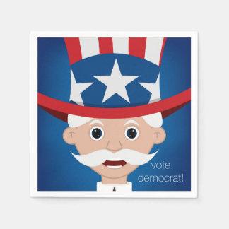 Democrat Paper Napkin