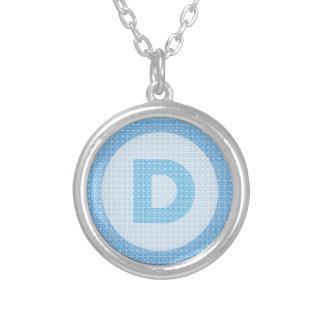 Democrat Party Logo Personalized Necklace