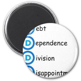 Democrat Party Logo Problems Magnet