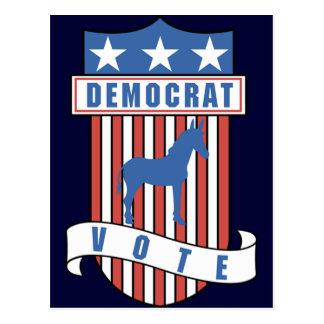 Democrat Party Postcard