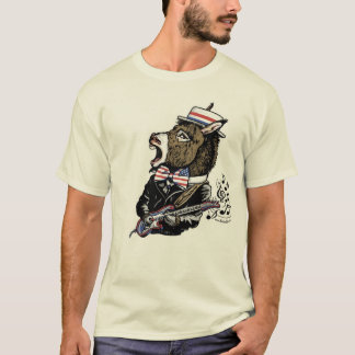 Democrat Party Rockin' Donkey Mascot T-Shirt
