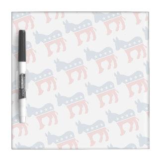 DEMOCRAT PATTERN DIAGONAL.png Dry-Erase Board