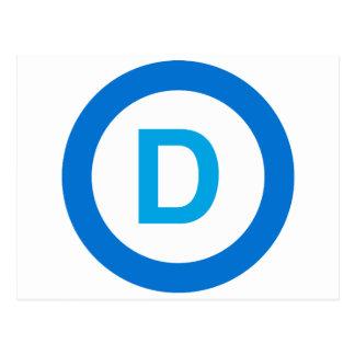 Democrat Postcard